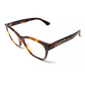 Gucci Women's Havana Eyeglasses